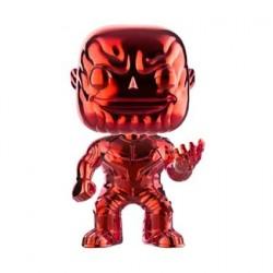 Figurine Pop! Avengers Infinity War Thanos Rouge Chrome Edition Limitée Funko Boutique en Ligne Suisse