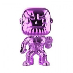 Figuren Pop! Avengers Infinity War Thanos Purple Chrome limitierte Auflage Funko Online Shop Schweiz