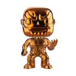 Figurine Pop! Avengers Infinity War Thanos Orange Chrome Edition Limitée Funko Boutique en Ligne Suisse