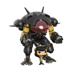 Figurine Pop! 15 cm Overwatch D.Va and MEKA Carbon Edition Limitée Funko Boutique en Ligne Suisse