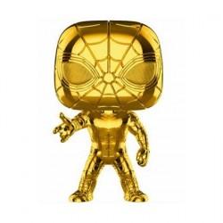 Figurine Pop! Marvel Studios 10 Anniversary Iron Spider-Man Chrome Edition Limitée Funko Boutique en Ligne Suisse