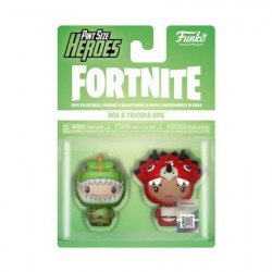 Funko Pint Size Fortnite Rex and Tricera Ops 2-Pack