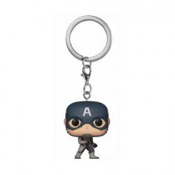 Figurine Pop! Pocket Keychains Marvel Avengers Endgame Captain America Funko Boutique en Ligne Suisse