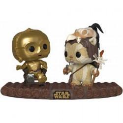 Figurine Pop! Star Wars Movie Moment C-3PO on Throne Funko Boutique en Ligne Suisse