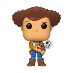 Figur Pop! Toy Story 4 Sheriff Woody holding Forky Limited Edition Funko Online Shop Switzerland