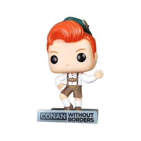 Figuren Pop! Conan O'Brien in Lederhosen Outfit Limited Edition Funko Online Shop Schweiz
