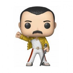 Figur Pop! Music Queen Freddie Mercury Wembley 1986 (Vaulted) Funko Online Shop Switzerland