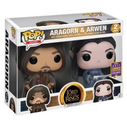 Figur Pop! SDCC 2017 Lord of the Rings Aragorn and Arwen 2-pack Limited Edition Funko Online Shop Switzerland