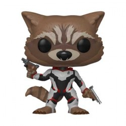 Pop! Marvel Avengers Endgame Rocket in Team Suit Limited Edition