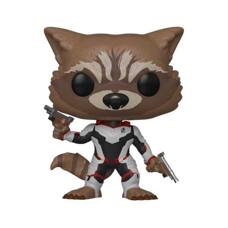 Figur Pop! Marvel Avengers Endgame Rocket in Team Suit Limited Edition Funko Online Shop Switzerland