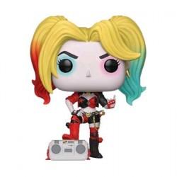 Figuren Pop! Batman Harley Quinn with Boombox Rebirth Limited Edition Funko Online Shop Schweiz