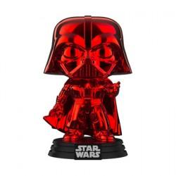 Figurine Pop! Star Wars Darth Vader Rouge Chrome Edition Limitée Funko Boutique en Ligne Suisse