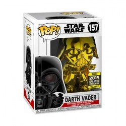 Figur Pop! Star Wars 2019 Galactic Convention Darth Vader Gold Chrome Limited Edition Funko Online Shop Switzerland