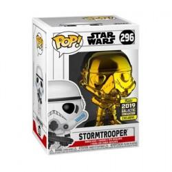 Figurine Pop! Star Wars 2019 Galactic Convention Stormtrooper Gold Chrome Edition Limitée Funko Boutique en Ligne Suisse