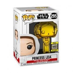 Figurine Pop! Star Wars 2019 Galactic Convention Princess Leia Gold Chrome Edition Limitée Funko Boutique en Ligne Suisse