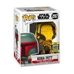 Figur Pop! Star Wars 2019 Galactic Convention Boba Fett Gold Chrome Limited Edition Funko Online Shop Switzerland
