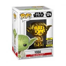 Figurine Pop! Star Wars 2019 Galactic Convention Yoda Gold Chrome Edition Limitée Funko Boutique en Ligne Suisse