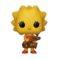 Figurine Pop! Les Simpsons Lisa Simpson Funko Boutique en Ligne Suisse