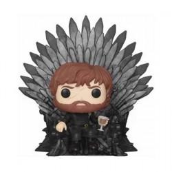 Figurine Pop! 15 cm Game Of Thrones Tyrion Sitting on Iron Throne Funko Boutique en Ligne Suisse