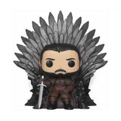 Figurine Pop! 15 cm Game Of Thrones Jon Snow Sitting on Iron Throne Funko Boutique en Ligne Suisse