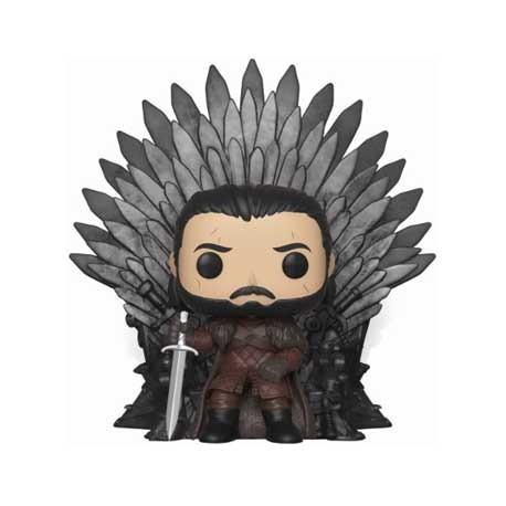 Figur Pop! 15 cm Game Of Thrones Jon Snow Sitting on Iron Throne Funko Online Shop Switzerland