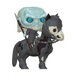 Figurine Pop! Game Of Thrones White Walker on Horse Funko Boutique en Ligne Suisse