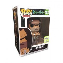 Figur Pop! ECCC 2019 Rick and Morty Shirtless Jaguar Limited Edition Funko Online Shop Switzerland