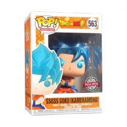 Figur Pop! Metallic Dragon Ball Super SSGSS Goku Kamehameha Limited Edition Funko Online Shop Switzerland