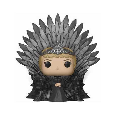 Figur Pop! 15 cm Game Of Thrones Cersei Lannister Sitting on Iron Throne Funko Online Shop Switzerland