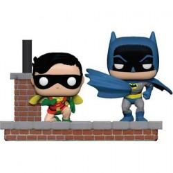 Figurine Pop! DC Batman 80th 1969 Movie Moment Batman et Robin Funko Boutique en Ligne Suisse