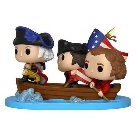 Figur Pop! Movie Moment American History George Washington Delaware Limited Edition Funko Online Shop Switzerland