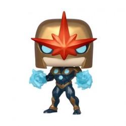 Figurine Pop! Métallique Marvel Nova Edition Limitée Funko Boutique en Ligne Suisse