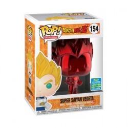 Figurine Pop! SDCC 2019 Dragon Ball Z Vegeta Chrome Rouge Edition Limitée Funko Boutique en Ligne Suisse
