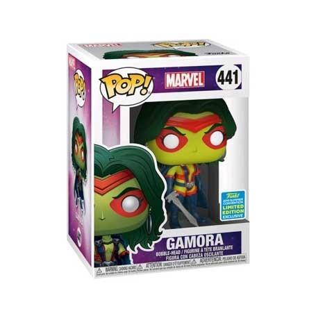 Figur Pop! SDCC 2019 Marvel Guardians of the Galaxy Gamora Classic Limited Edition Funko Online Shop Switzerland
