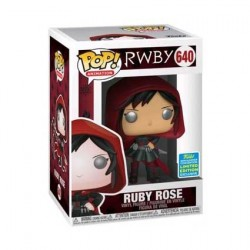 Figur Pop! SDCC 2019 RWBY Ruby Rose with Hood Limited Edition Funko Online Shop Switzerland