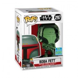 Figur Pop! SDCC 2019 Star Wars Boba Fett Green Chrome Limited Edition Funko Online Shop Switzerland