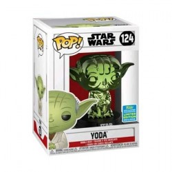 Figur Pop! SDCC 2019 Star Wars Yoda Green Chrome Limited Edition Funko Online Shop Switzerland