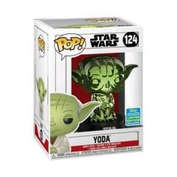 Figurine Pop! SDCC 2019 Star Wars Yoda Vert Chrome Edition Limitée Funko Boutique en Ligne Suisse