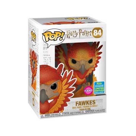 Figur Pop! SDCC 2019 Harry Potter Fawkes Flocked Limited Edition Funko Online Shop Switzerland