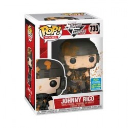 Pop! SDCC 2019 Starship Troopers Johnny Rico Blood-Splattered Limited Edition