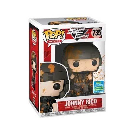 Figur Pop! SDCC 2019 Starship Troopers Johnny Rico Blood-Splattered Limited Edition Funko Online Shop Switzerland