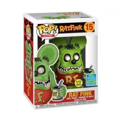 Figur Pop! SDCC 2019 Rat Fink Glow in the Dark Limited Edition Funko Online Shop Switzerland