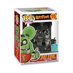 Figurine Pop! SDCC 2019 Rat Fink Grey Chrome Edition Limitée Funko Boutique en Ligne Suisse