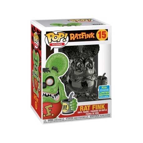 Figur Pop! SDCC 2019 Rat Fink Grey Chrome Limited Edition Funko Online Shop Switzerland