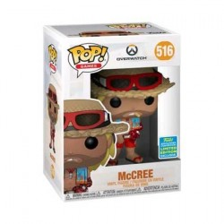 Figurine Pop! SDCC 2019 Overwatch McCree Summer Skin Edition Limitée Funko Boutique en Ligne Suisse