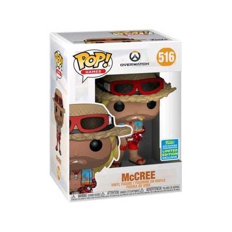 Figur Pop! SDCC 2019 Overwatch McCree Summer Skin Limited Edition Funko Online Shop Switzerland