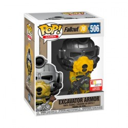 Figur Pop! E3 Convention 2019 Fallout Excavator Armor Limited Edition Funko Online Shop Switzerland