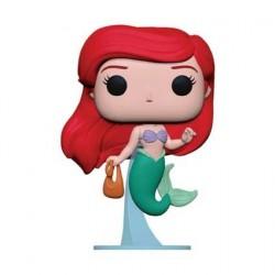 Figurine Pop! Disney La Petite Sirène Ariel avec Sac Funko Boutique en Ligne Suisse