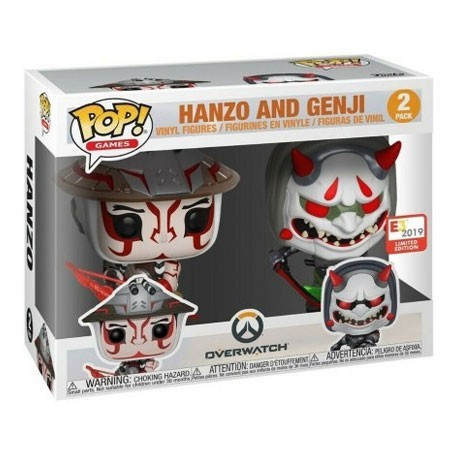 Figur Pop! E3 Convention 2019 Overwatch Hanzo & Genji Limited Edition Funko Online Shop Switzerland