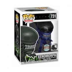 Figurine Pop! Métallique Alien 40th Xenomorph Bleu Edition Limitée Funko Boutique en Ligne Suisse